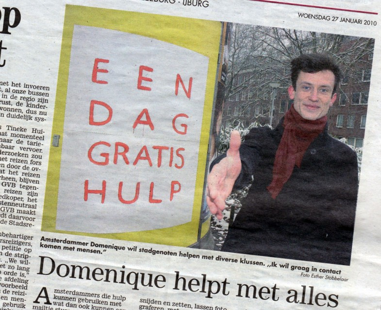 15-10-29 Amsterdams stadsblad Dag gratis hulp